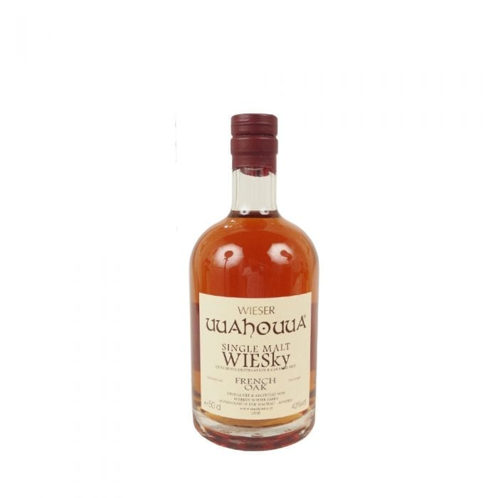 Single Malt WIESky - French Oak 0,5l