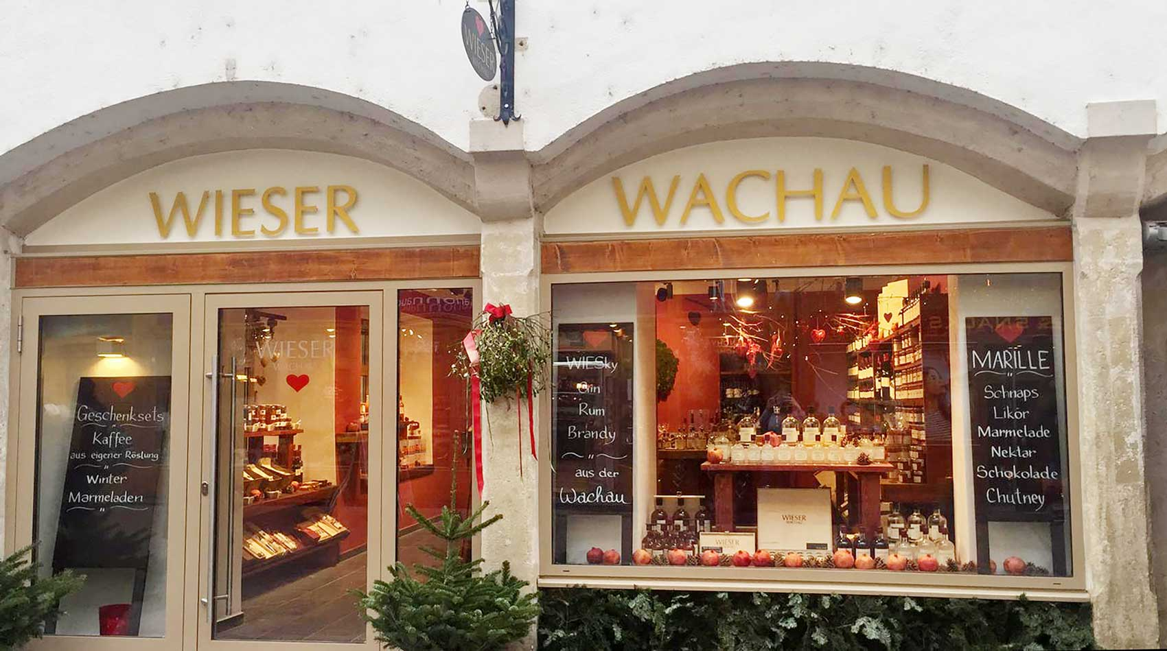 Wieser Café & Shop in Krems